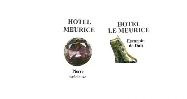 mes recherches Hotel Meurice