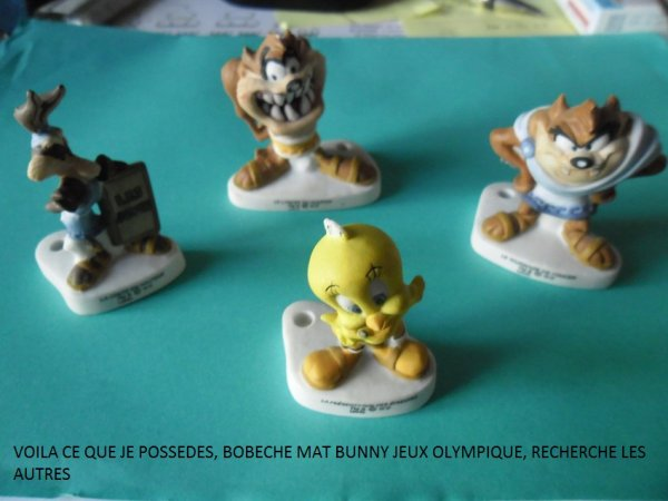 MES RECHERCHES BOBECHES TOON'S JEUX OLYMPIQUE