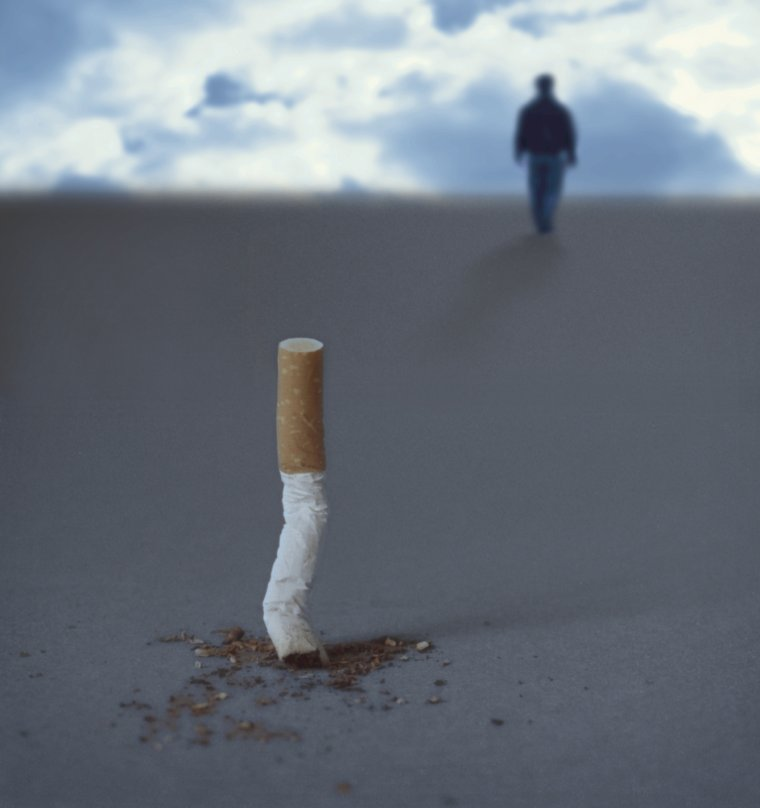 Quid de la volonté pour arrêter de fumer?