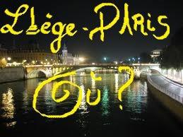 """""""à Liège (où ?) à Paris, là NUit, tous les pONts ne sont pas gRIs !"""" AL.ReyNa"""