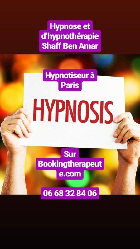 Centre d'Hypnose et d'hypnothérapie Shaff Ben Amar ( Hypnotiseur à Paris )  Sur Bookinghterapeute.com