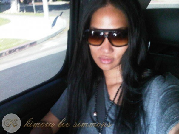 27 avril 2011 : Kimora allant chercher surêment ses enfants ...