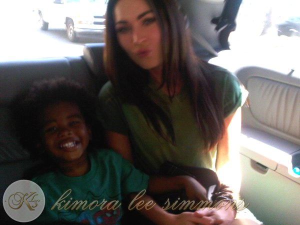 Quelques nouvelles photos de Kimora ! (+ Kenzo et Megan Fox ! OUi oui ! )