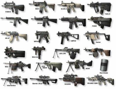 armes de mw2
