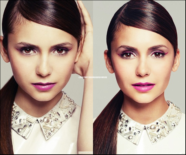 """•PHOTOSHOOT : Nina Dobrev pose pour le magazine""""Glamour"""" photographiée par Patric Shaw"""