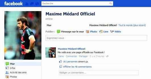 Maxime a enfin sa page officielle !