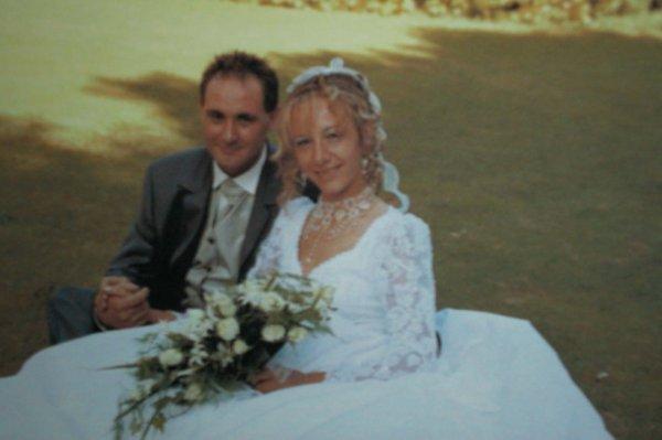 petit souvenir de mon mariage le 18/07/2003
