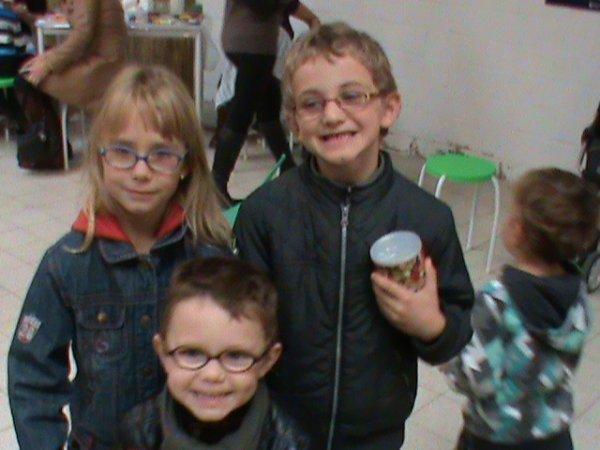 mes trois derniers loulous mes jumeaux de 6 ans et mathéo qui a 3 ans a l'epoque