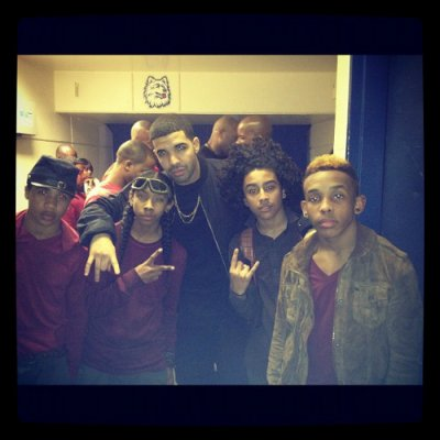 MB With Drake (l)