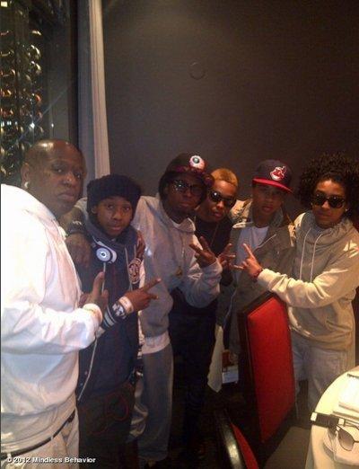 Les M~B, Lil Wayne & Bird Man (l)