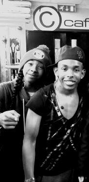 Prodigy & RayRay (l)