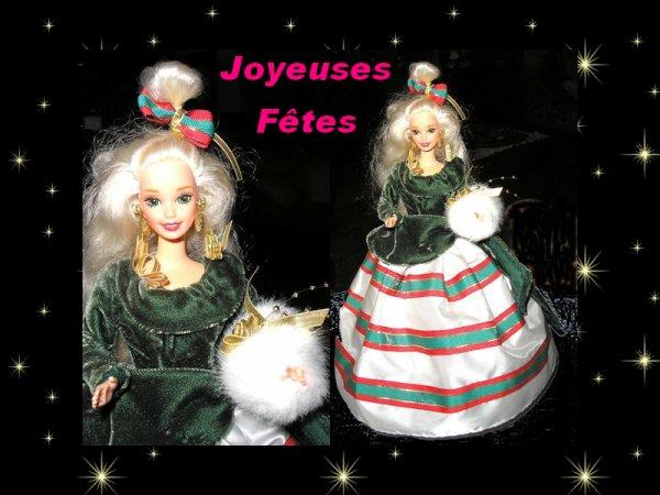 Barbie vous souhaite un Joyeux Noël