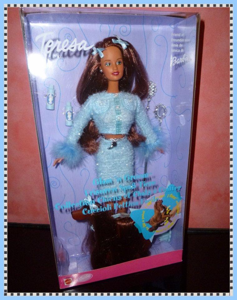 Barbie ses amies et les chiens blog de barbiecathdolls - Barbie et son chien ...
