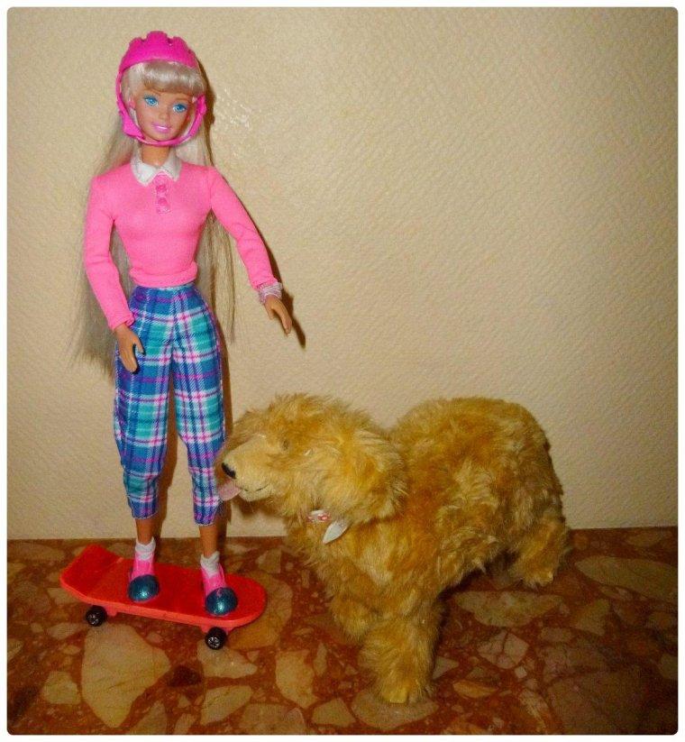Barbie et ginger blog de barbiecathdolls - Barbie et son chien ...