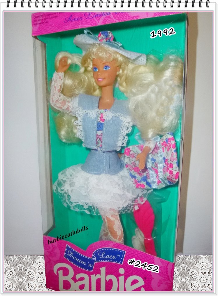 Barbie & Dentelles...