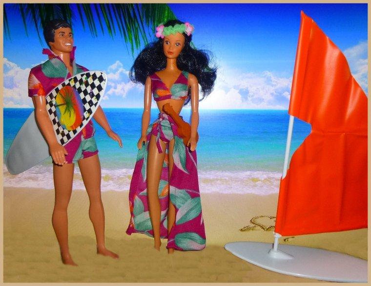 Jeux de plage...