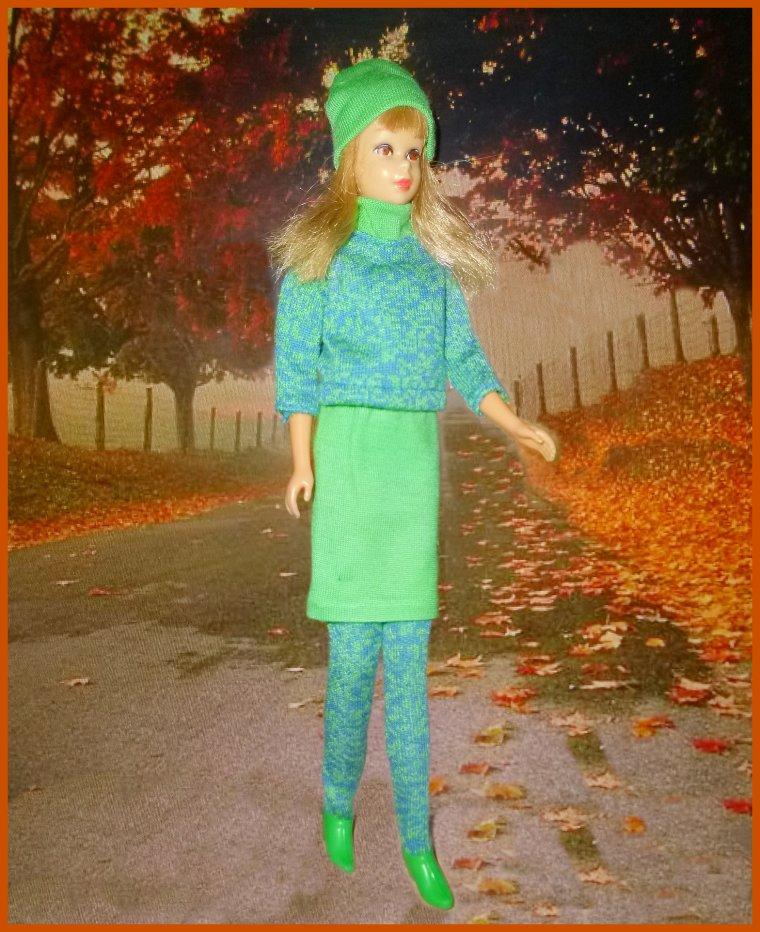 Francie en vadrouille un jour d'automne...