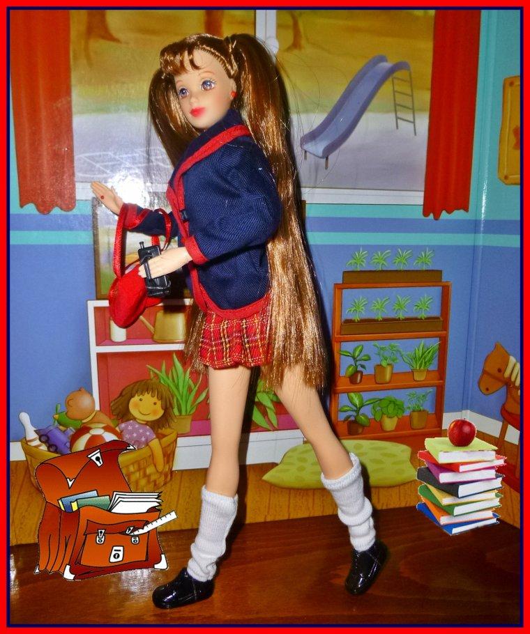 Jour d'école pour Reina...
