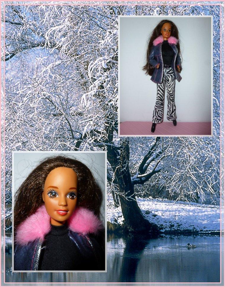 Des manteaux de toutes sortes pour habiller Barbie...