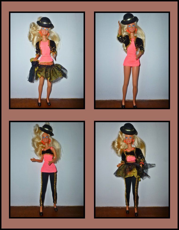 JAZZIE la jolie cousine de Barbie...