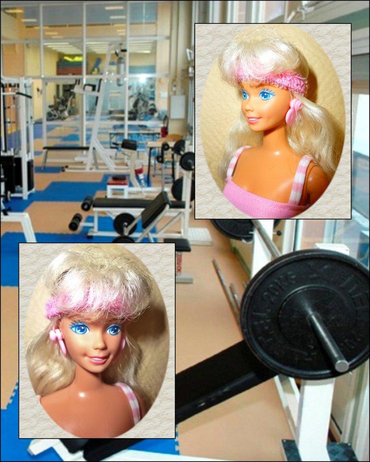 Barbie sportive