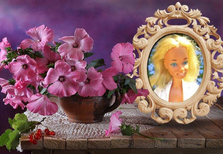 Dans les fleurs