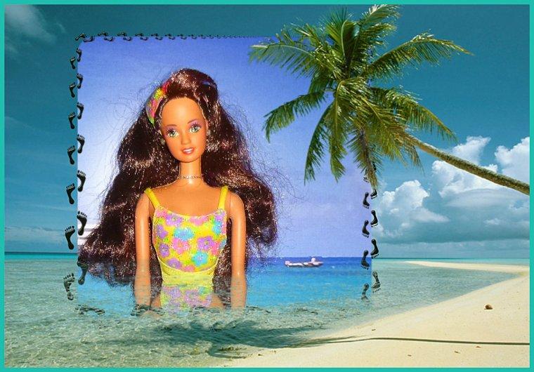 A la plage...
