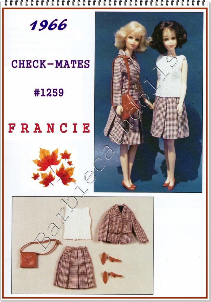 Francie, tenue d'automne...
