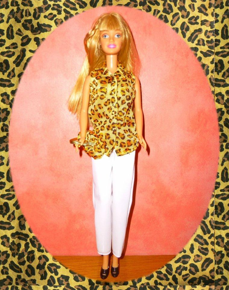 Barbie se promène
