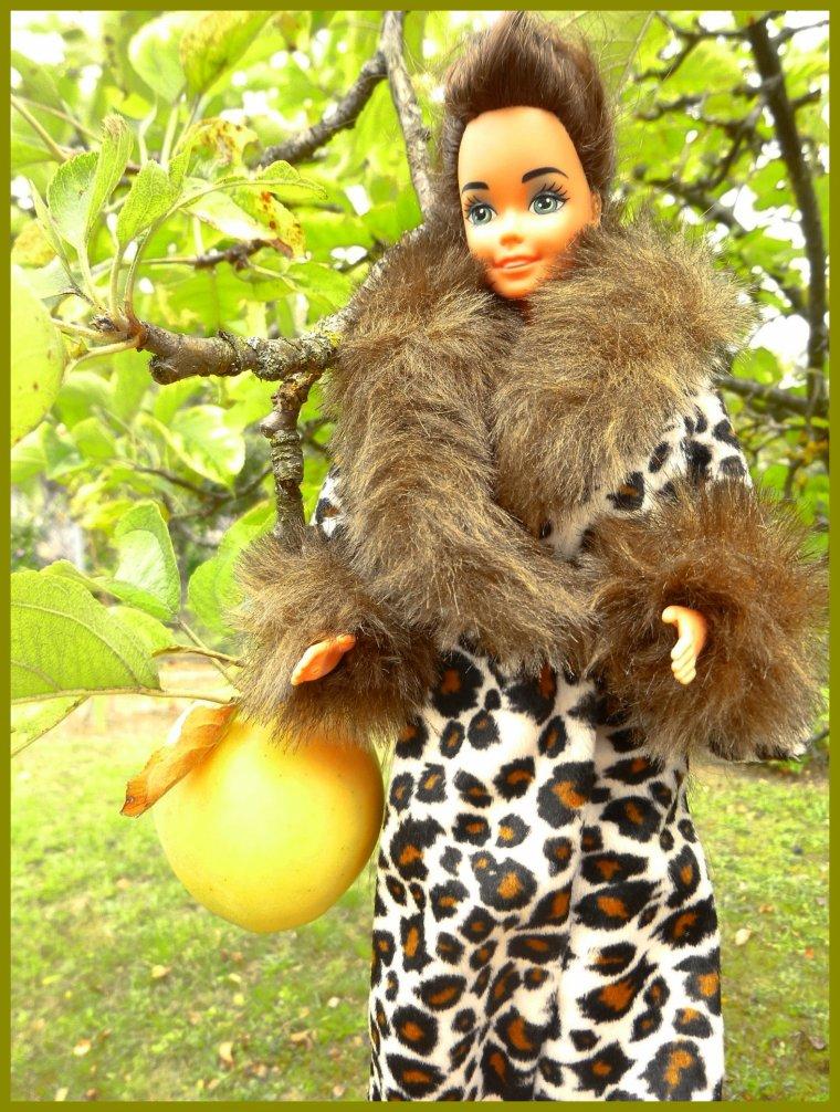 Un petit peu plus frais...Barbie se couvre !