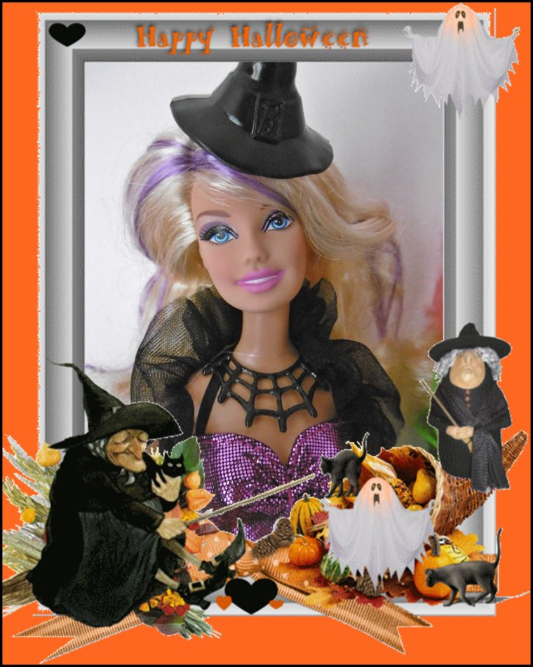 BARBIE HALLOWEEN