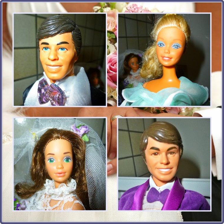 Le mariage des amis de Barbie