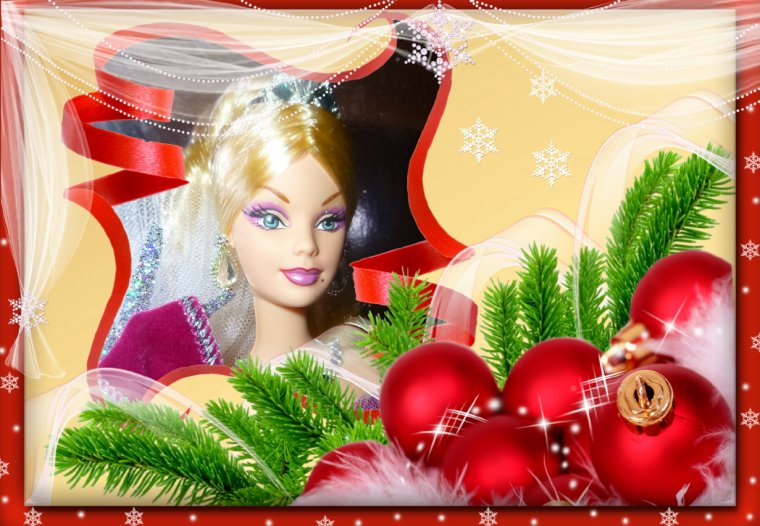 Holiday Barbie 2005