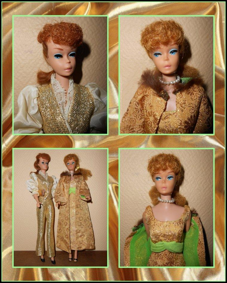 Barbie aime le doré...