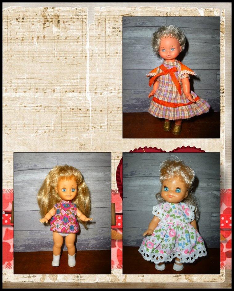Des petites poupées que j'aime...
