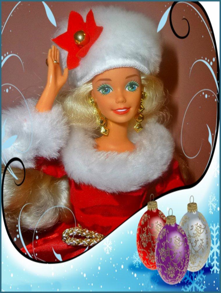 Barbie Happy Holidays ** JOYEUX NOEL