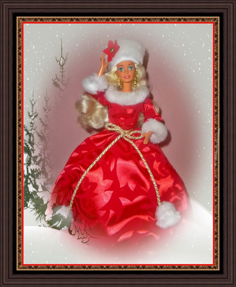 Barbie Happy Holidays ** JOYEUX NOEL