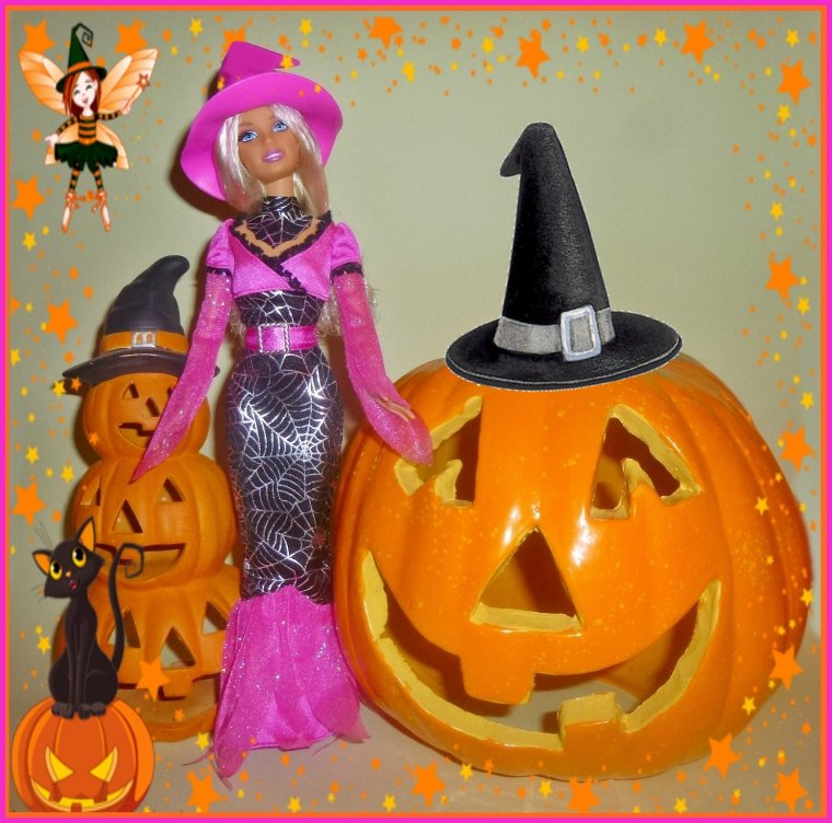 Jolies sorcières d'Halloween...