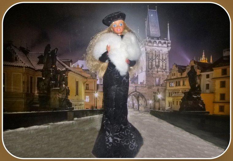 Une soirée à Prague pour Barbie...