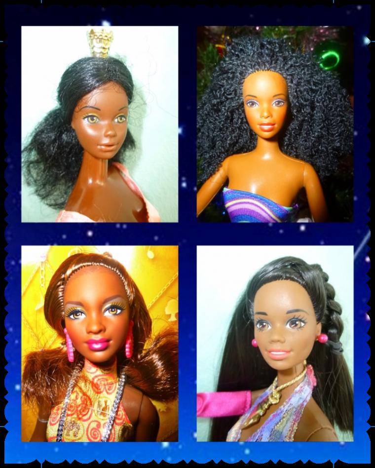 Portraits de Barbie Noires