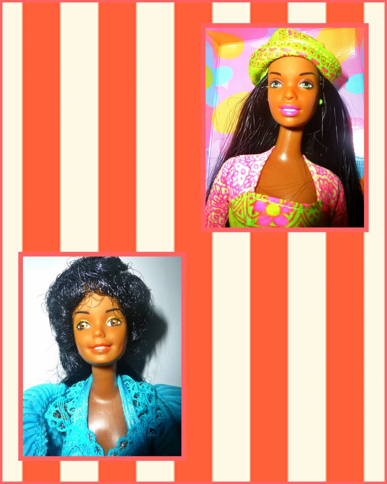 Portraits de Barbie Noires