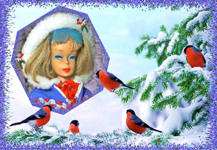C'est l'hiver...et la neige