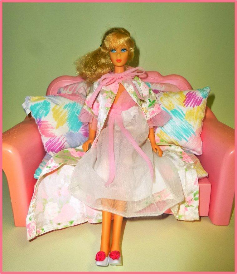 Barbie dans l'intimité...