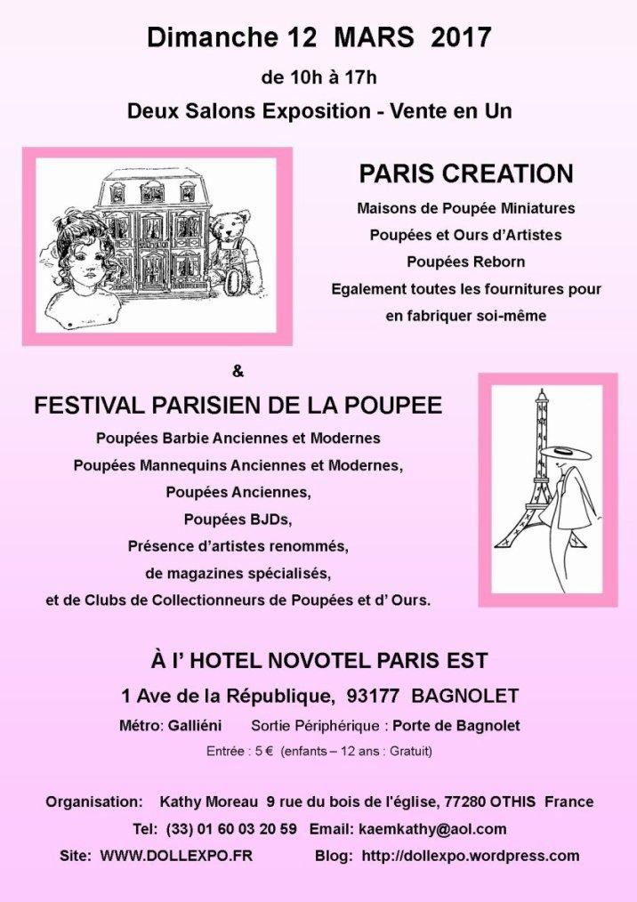 Festival Parisien de la Poupée...