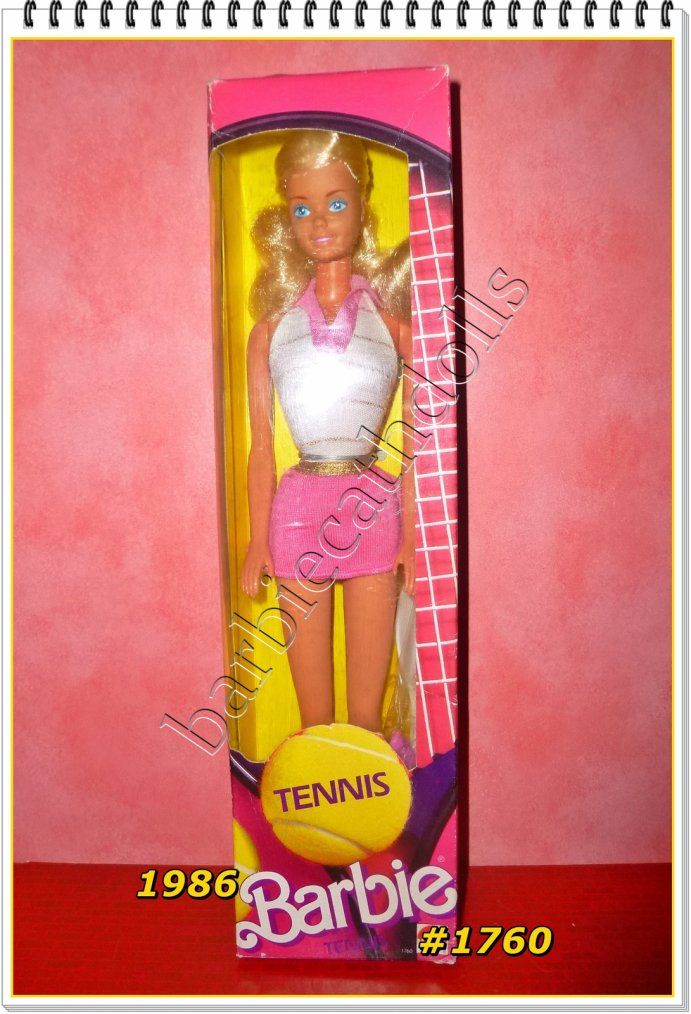 Barbie Tennis...