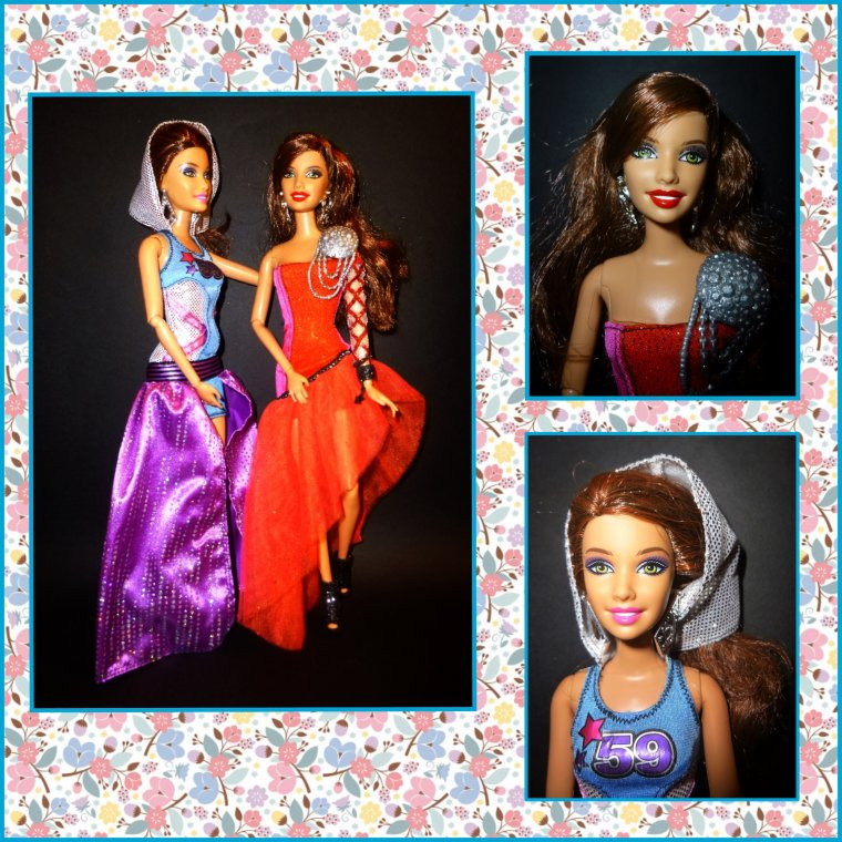 BARBIE FASHIONISTAS HOLLYWOOD DIVAS