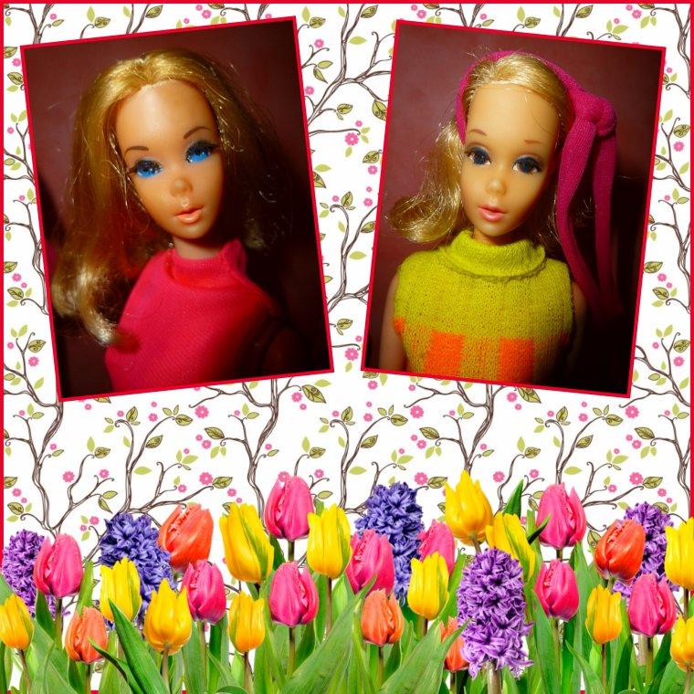 Barbie, Jaimie, Steffie et Ken...