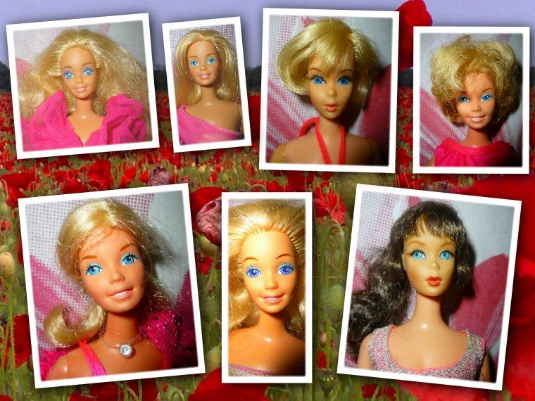 Barbie voit la vie en rose...1