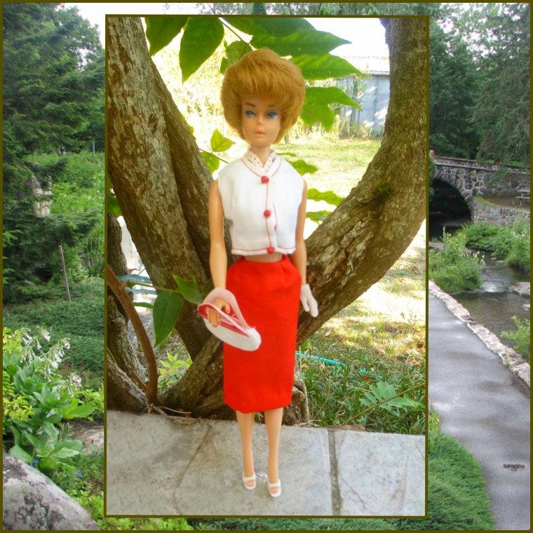 Barbie bubble cut