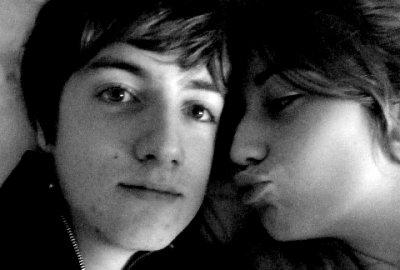 Lucas et moi. ♥